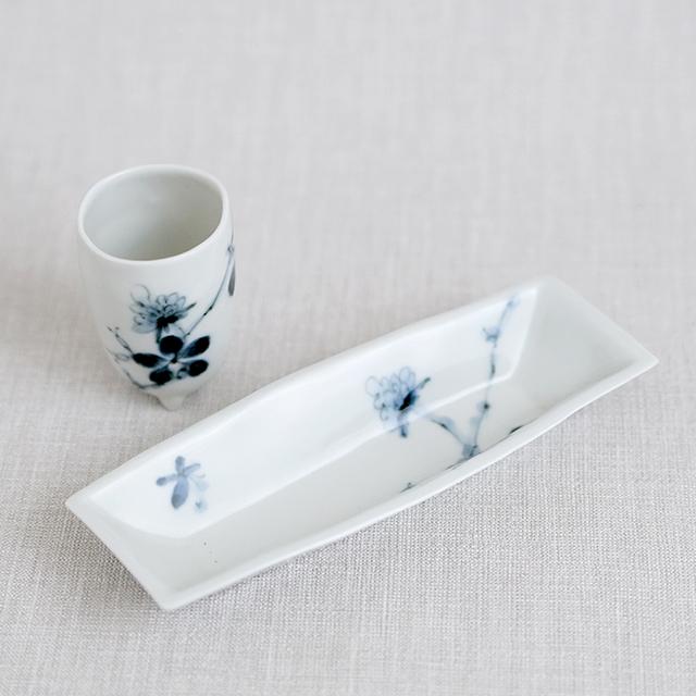 陶房青 Ao 波佐見焼 吉村陶苑 AOSHOP 父の日 プレゼント ギフト ロックカップ ぐい呑 カップ 酒器 豆皿