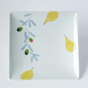 マティーニ 角皿 プレート 波佐見焼 陶房青 AO SHOP 吉村陶苑