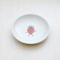 波佐見焼 陶房青 M.Pots エムポッツ 子供用食器 こども用 お祝い お食い初め ギフト プレゼント 内祝 イチゴ 苺 丸皿