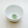 波佐見焼 陶房青 M.Pots エムポッツ 子供用食器 こども用 お祝い お食い初め ギフト プレゼント 内祝 そら豆 お茶碗