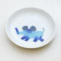 波佐見焼 陶房青 M.Pots エムポッツ 子供用食器 こども用 お祝い お食い初め ギフト プレゼント 内祝 ぞう 丸皿