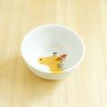 【陶房青専門ショップAo】波佐見焼 青 吉村陶苑 Mpots  子供用食器 きりん お茶碗