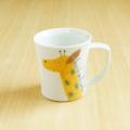 【陶房青専門ショップAo】波佐見焼 青 吉村陶苑 Mpots  子供用食器 きりん マグカップ