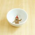 【陶房青専門ショップAo】波佐見焼 青 吉村陶苑 Mpots  子供用食器 くま お茶碗