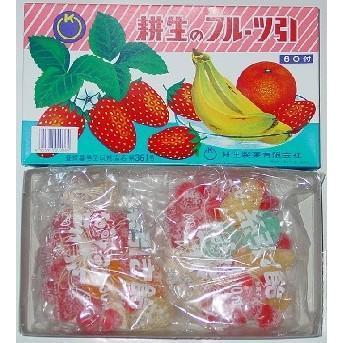 フルーツ糸引きあめ(耕生製菓)