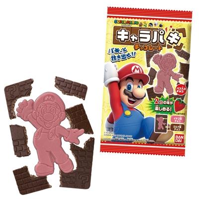 スーパーマリオ キャラパキ チョコレート 14入