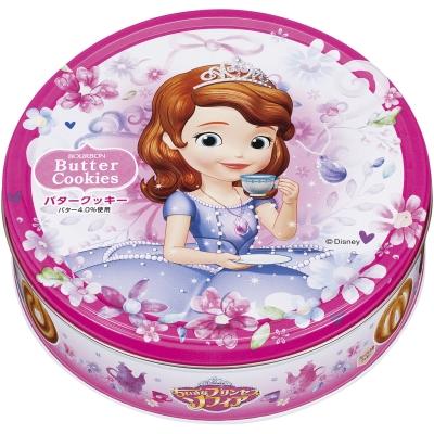 ブルボン バタークッキー缶(ちいさなプリンセスソフィア) 1箱