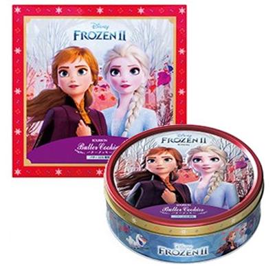 ブルボン バタークッキー缶(アナと雪の女王) 1箱