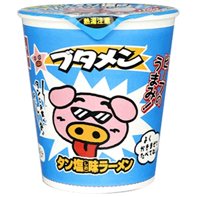 ブタメン タン塩味 15入 【送料サービス対象外商品】