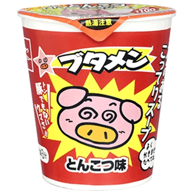 ブタメン とんこつ味 15入 【送料サービス対象外商品】