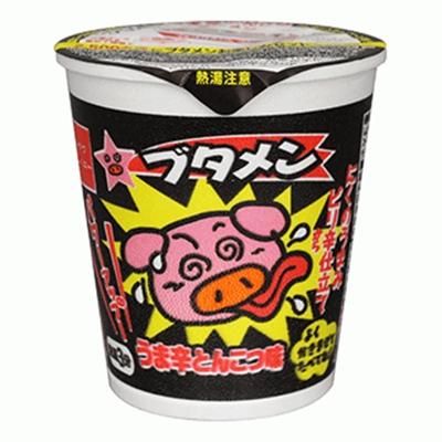 ブタメン うま辛とんこつ味 15入 【送料サービス対象外商品】