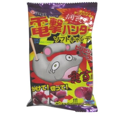 電撃ハンターソフトキャンディ ビリビリコーラ味 10入