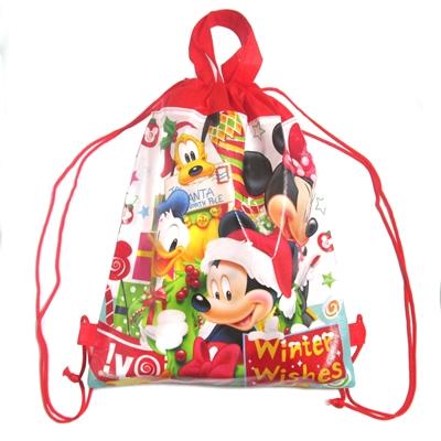 ディズニークリスマス2WAYバック駄菓子詰め合わせ 1個