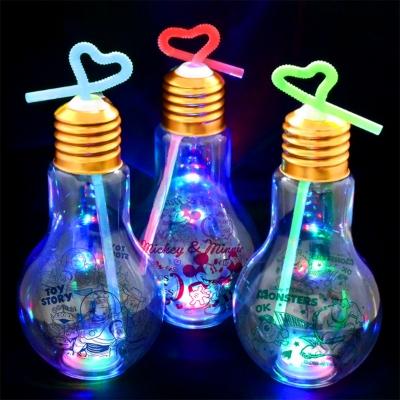 ディズニーオールスター光る電球ボトル500ml 30個入