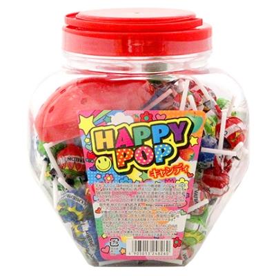 やおきん ハッピーポップキャンディ 100本入