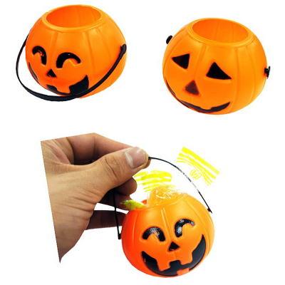 ハロウィン かぼちゃのバケツ 25入