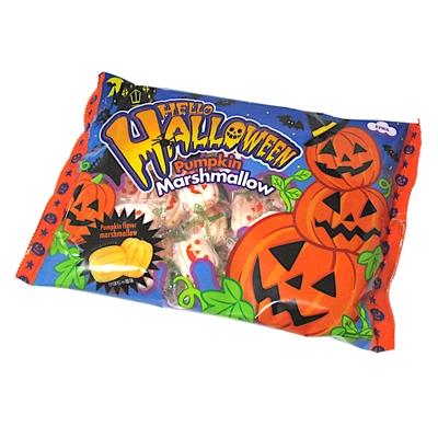ハロウィン パンプキンマシュマロ(大袋) 1袋