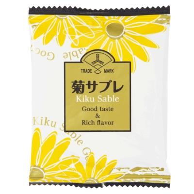 三ツ矢製菓 1枚菊サブレ 60入