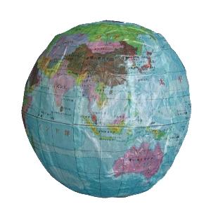 紙フーセン 地球3号 1枚