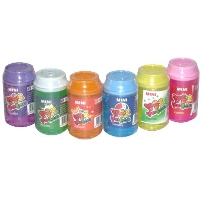 韓国カラフル缶缶スライミー 18入
