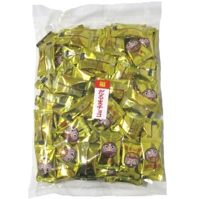 金のだるまチョコ400g(約107個) 1袋