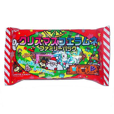 クリスマスフエラムネファミリーパック(110g 標準40個) 1袋