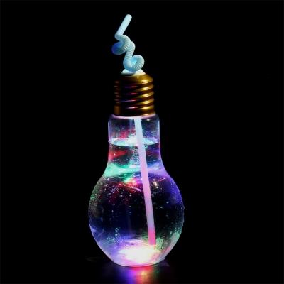 LED電球ボトル500(ストロー付) 1個