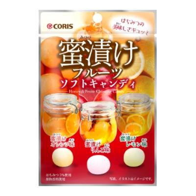 蜜漬けフルーツソフトキャンディ 10入