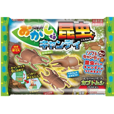 おかしな昆虫キャンディ 8入