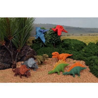 おもしろ消しゴム 恐竜 60入