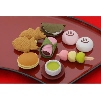おもしろ消しゴム 和菓子 60入