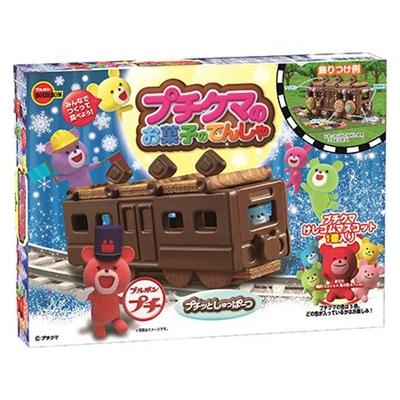 ブルボン プチクマのお菓子のでんしゃ 1箱