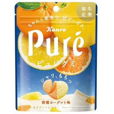 ピュレグミ 柑橘ヨーグルト 6入