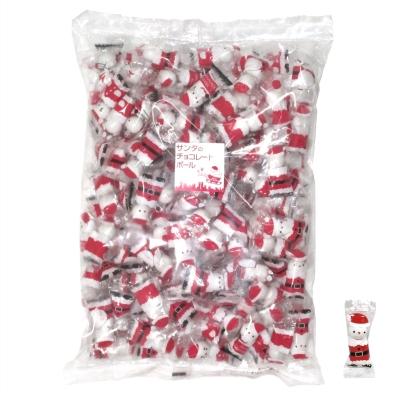 クリスマス サンタのチョコレートボール500g(約150個)