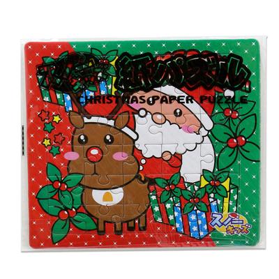 スノーキッズ クリスマス紙パズル 25入