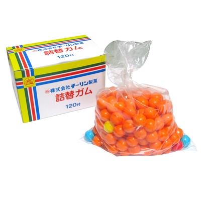 チーリン 詰替用マーブルガム(120付+金券分35個同梱)