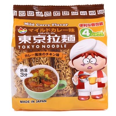 東京拉麺マイルドカレー120g(30g×4P)×12袋入