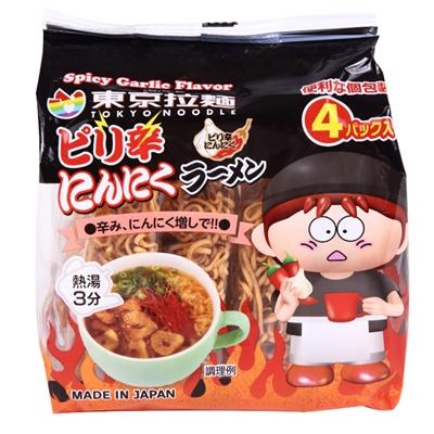 東京拉麺ピリ辛にんにく120g(30g×4P)×12袋入