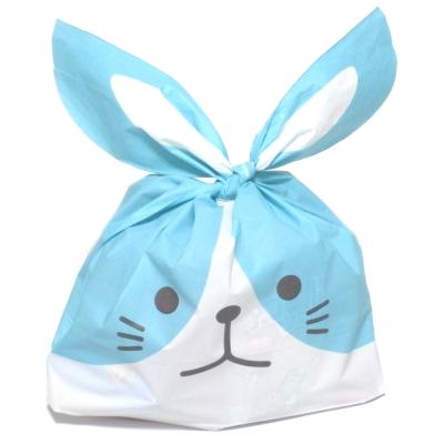 わんちゃん袋(ブルー) 駄菓子詰め合わせ 1個