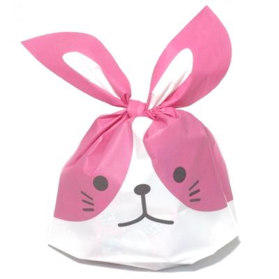 わんちゃん袋(ピンク) 駄菓子詰め合わせ 1個