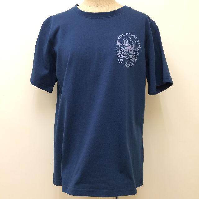 猫のダヤンの半袖Tシャツ「ロゴ神」柄の前側の全体画像