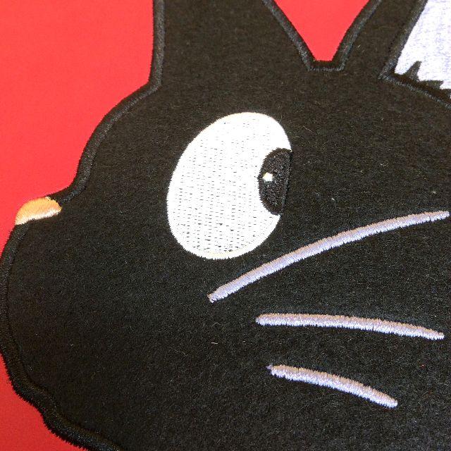 2019年スタジオジブリ魔女の宅急便黒猫ジジの手帳の表紙のジジの顔アップ画像