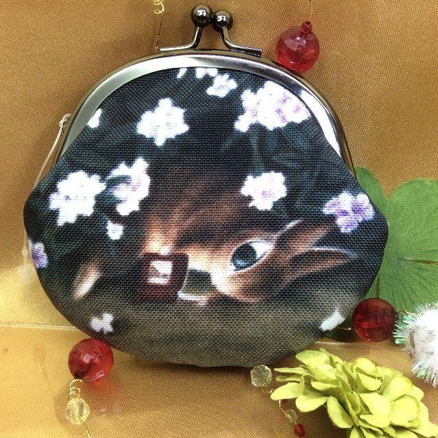 ダヤンガマグチ小銭入れウサギのマーシイ側の画像