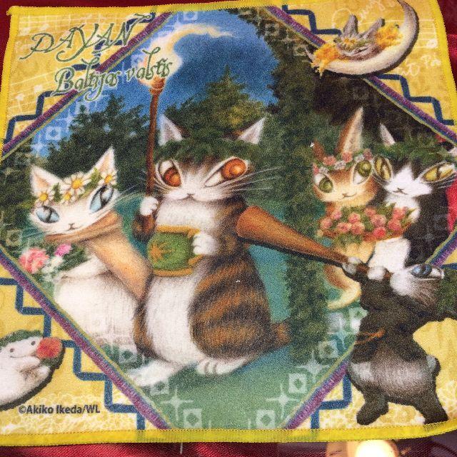 ダヤンのメガネ拭き「夏至祭り」の全体画像