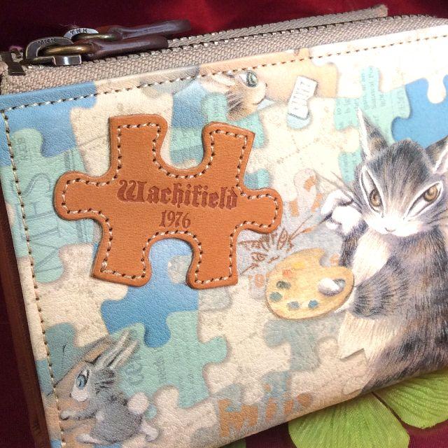 ダヤンの二つ折り財布パズルの全体の画像