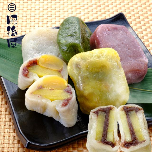 いきなり団子 人気の 5種 10個入り 熊本 名物 送料無料(東北・離島を除く)