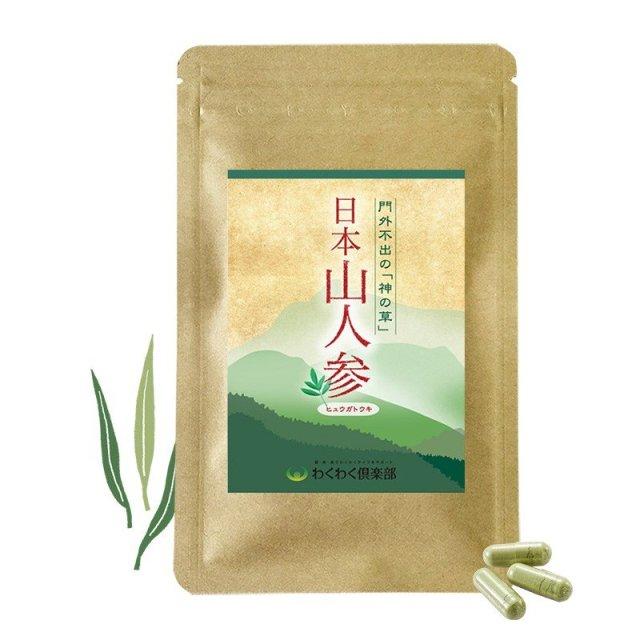 食物繊維 カリウム 日本山人参 (1袋 約半月分) 国産 サプリメント