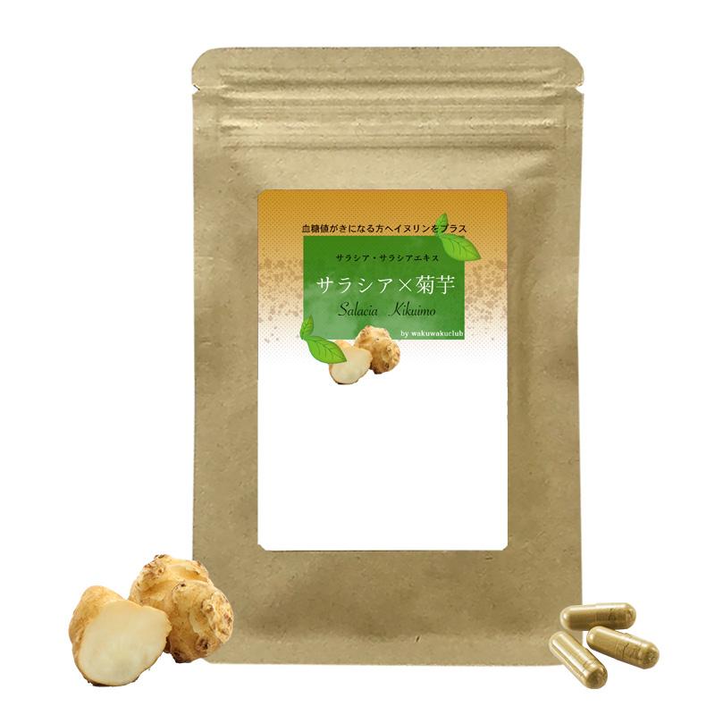 有用成分イヌリン サラシア×キクイモ (1袋 約半月分) 国産サプリメント
