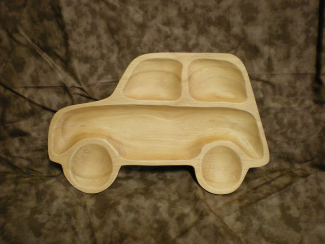 子供用木製トレー