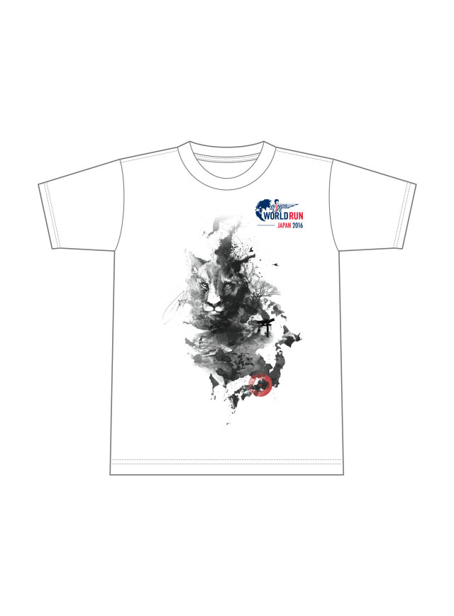 Wings for Life World Run × TAKA Tシャツ - Heritage JAPAN